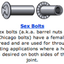 Know Your Nuts and Bolts