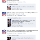 The NFL's Official Facebook Page During Super Bowl XLV