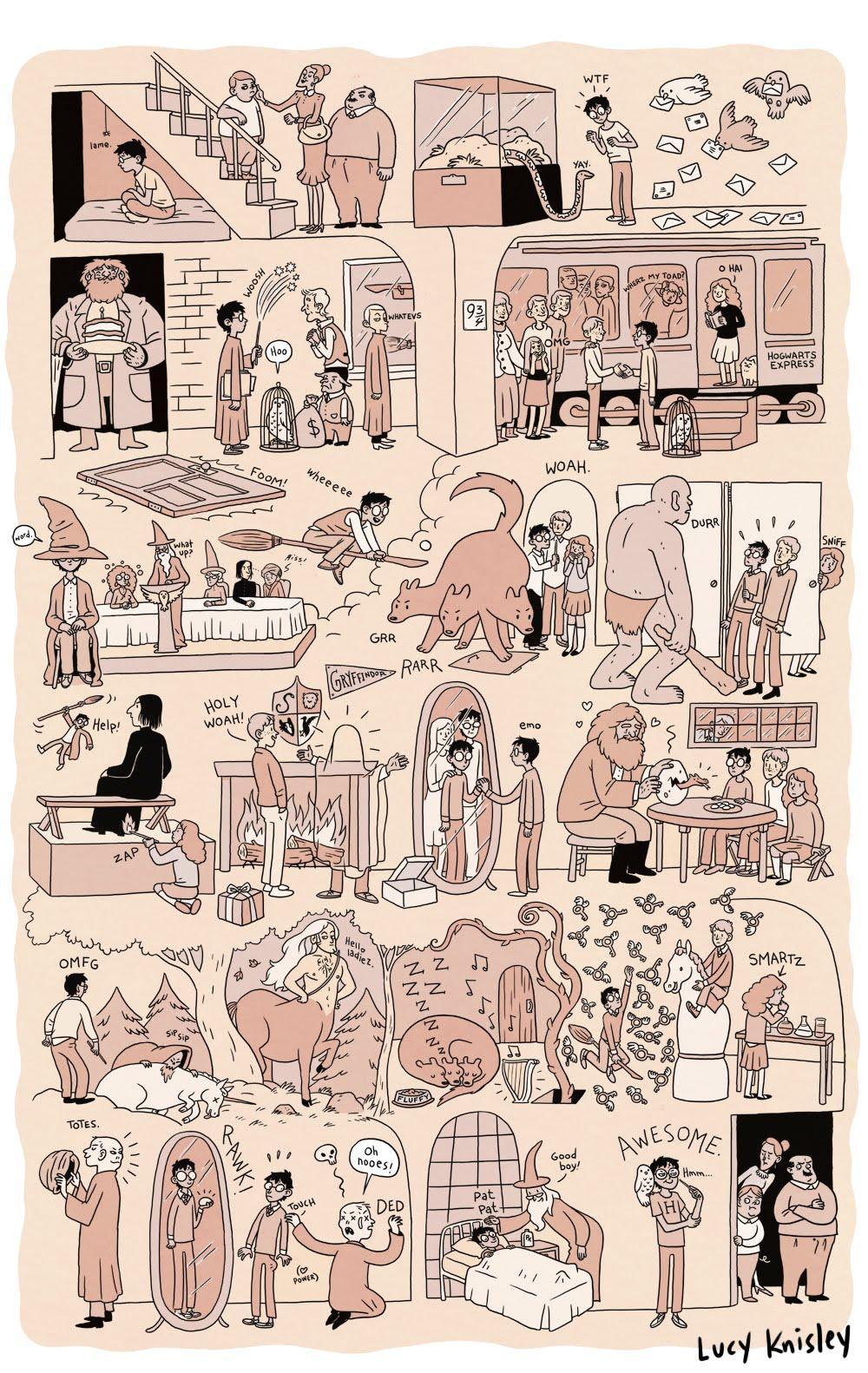 Harry Potter, Abridged [Comics]