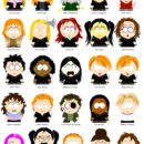 Harry Potter Characters, South Park Style