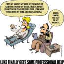 Luke Skywalker Seeks Professional Help
