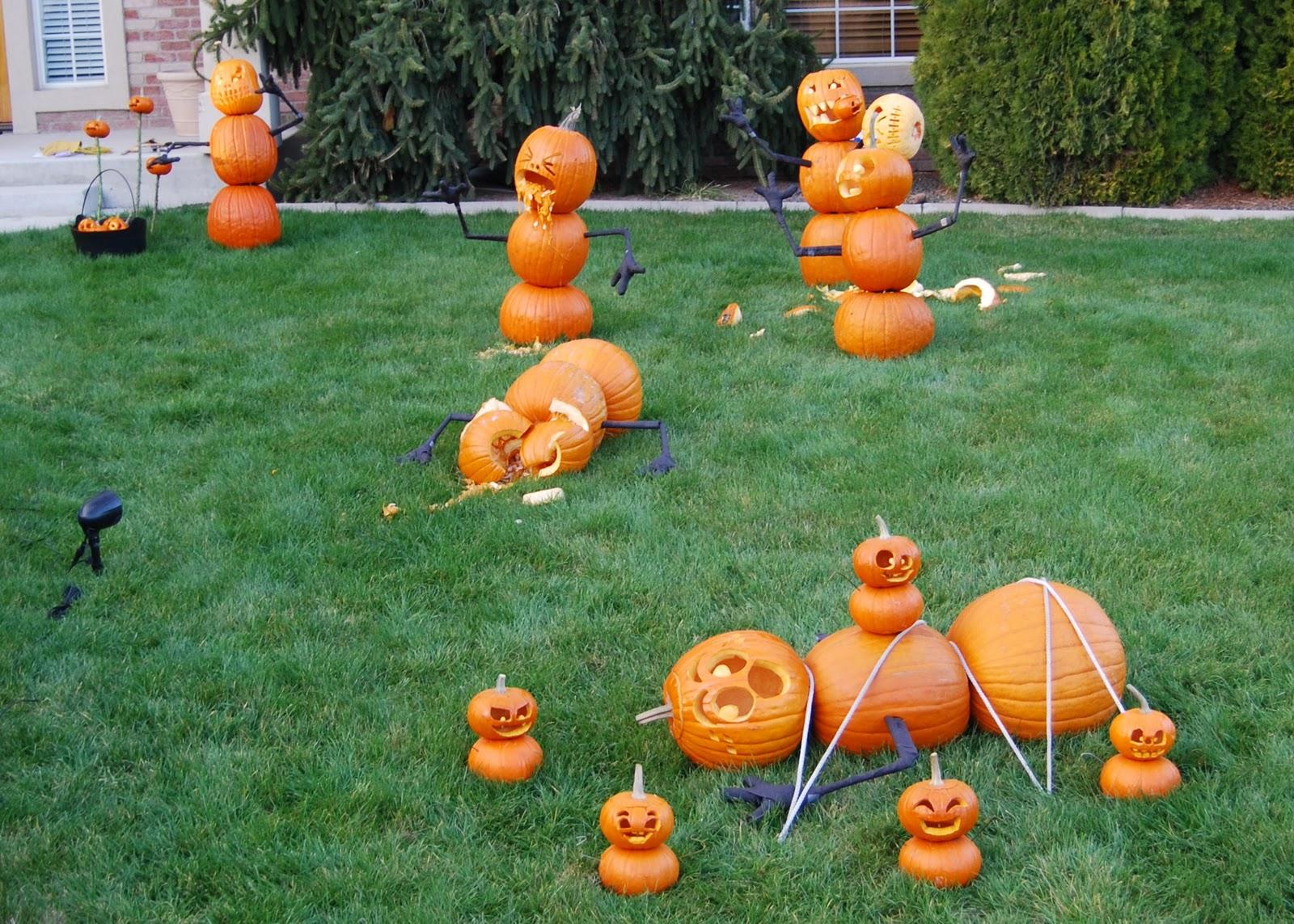 The Great Pumpkin Massacre [à la Calvin and Hobbes]