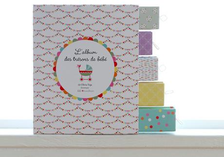 Giveaway: L'album des trésors de bébé [Gorgeous French Baby Book]