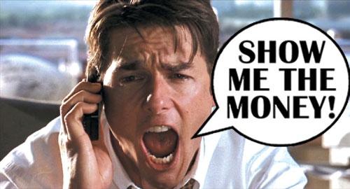 Bloggy Thursdays: (Not) Raking in the Moolah