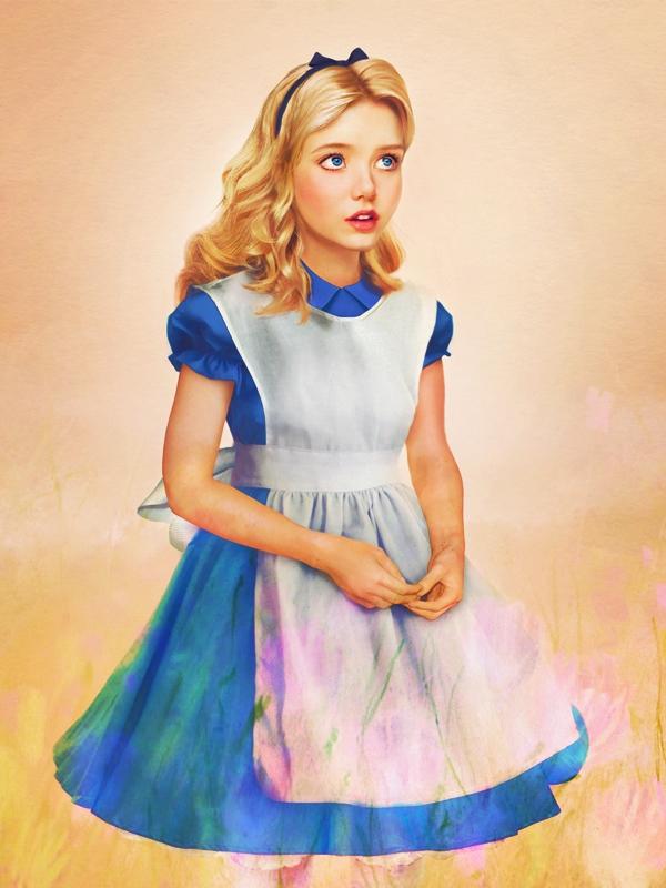 Fantastically Realistic Illustrations of Disney Princesses, Part Deux