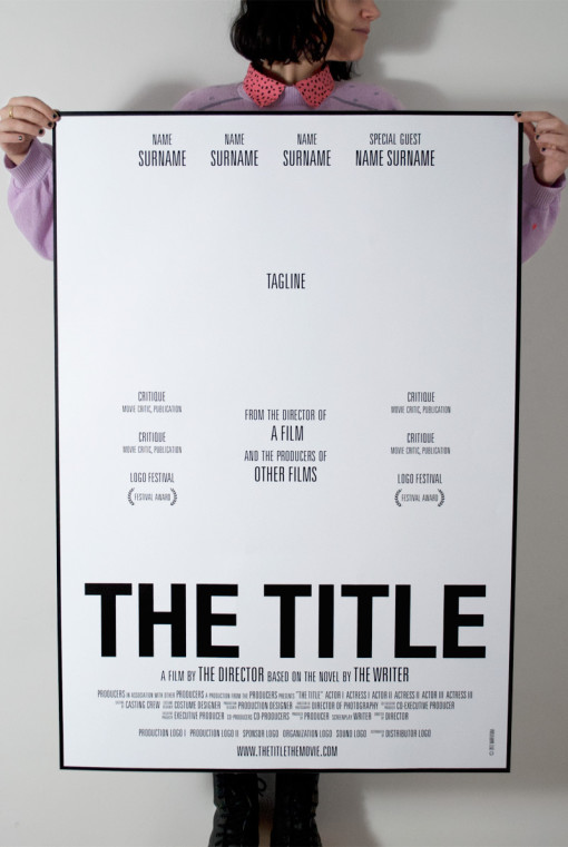 the_title_movie_typeface_poster