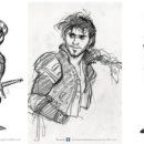 Original Concept Designs for Disney Characters