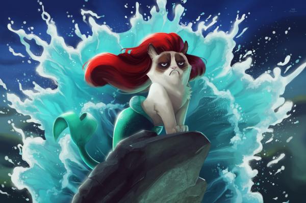 grumpy_cat_disney_little_mermaid