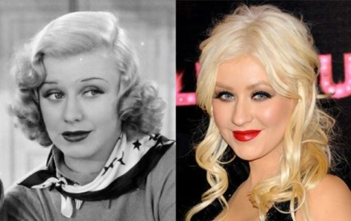 celebrities_historical_twins_christian_aguilera