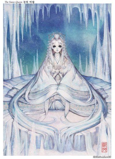 western_folktales_korean_illustration_the_snow_queen