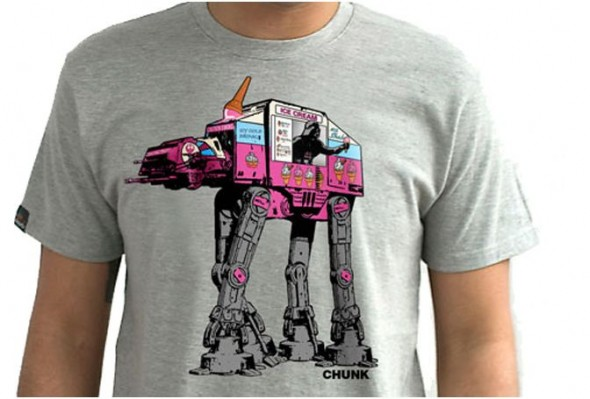 AT-AT Ice Cream [T-Shirt of the Day]