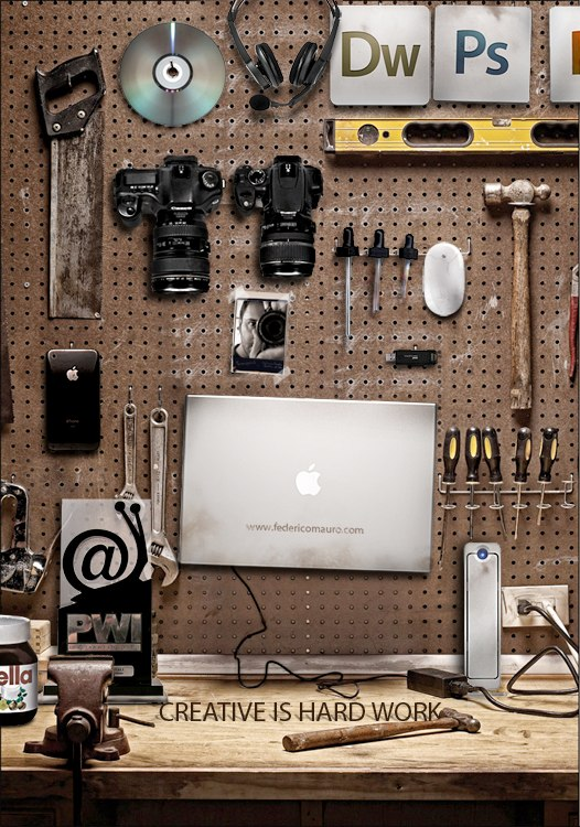 A Digital Artist's Workbench