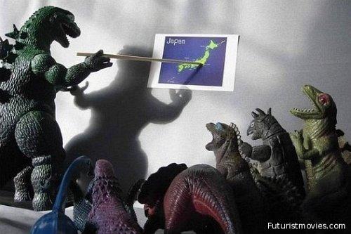 Godzilla vs Japan