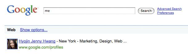 Google Knows Me