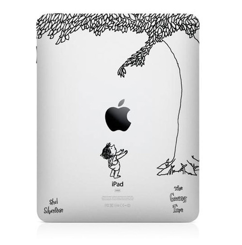 """The Giving Tree"" Decal for the iPad"