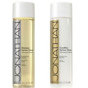 Product Review: Jonathan Serious Volume Shampoo & Conditioner