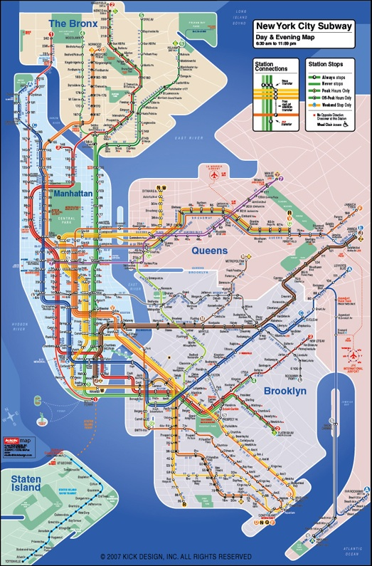 Redesigning the NYC Subway Map
