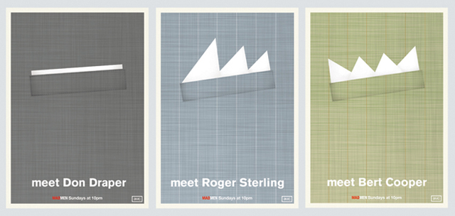 Minimalist 'Mad Men' Posters