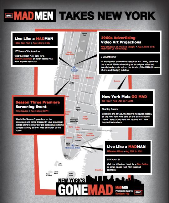 Mad Men Takes New York