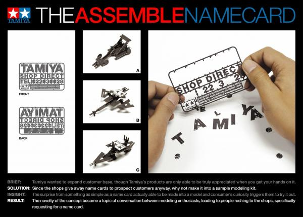 Model Kit Business Cards