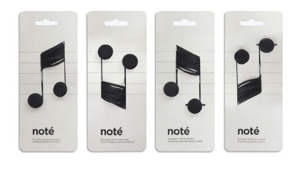 Noté Headphone Packaging
