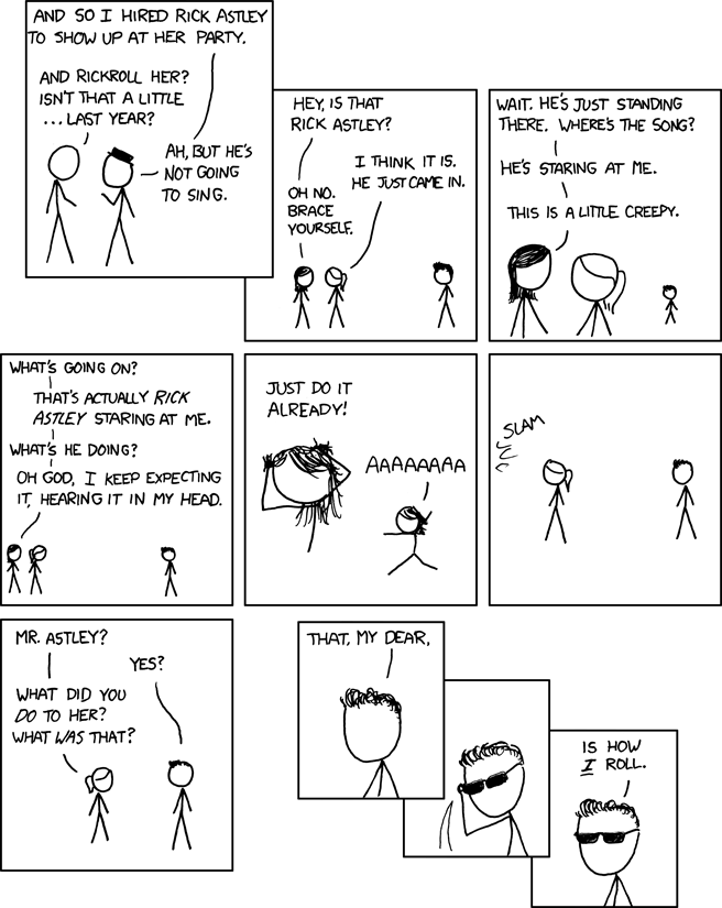 Yet Another Homage to xkcd