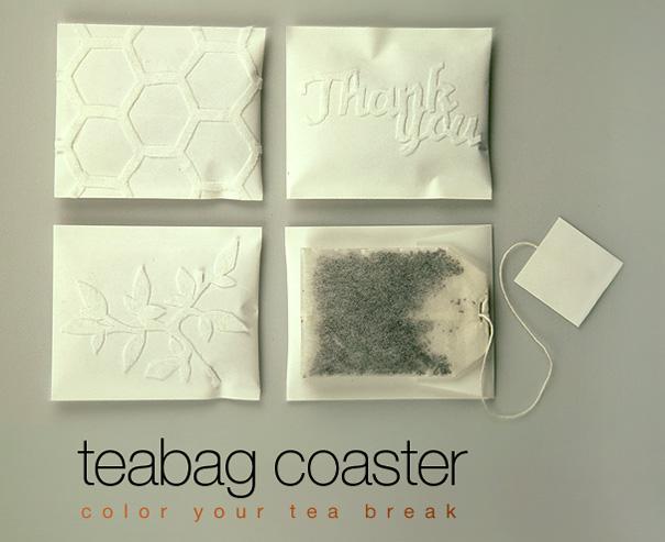 Teabag Coasters