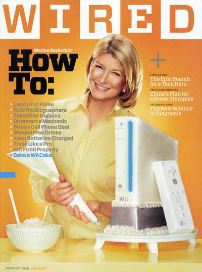 """Martha Stewart """"Blogger Show"""""""