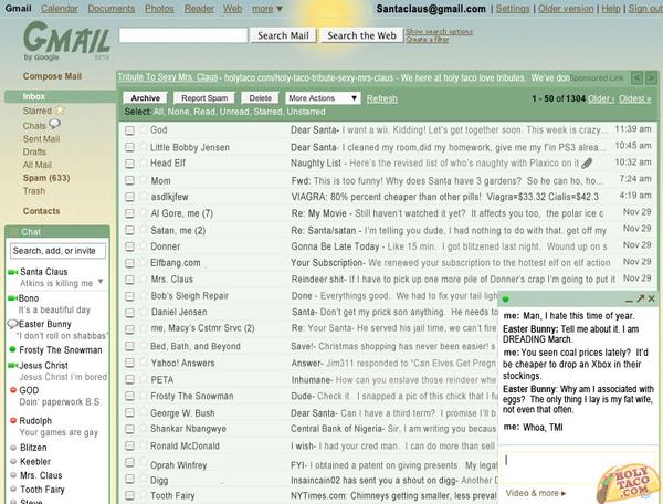 If Santa Had Gmail