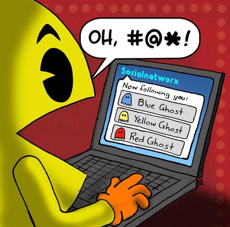 Pacman on Twitter
