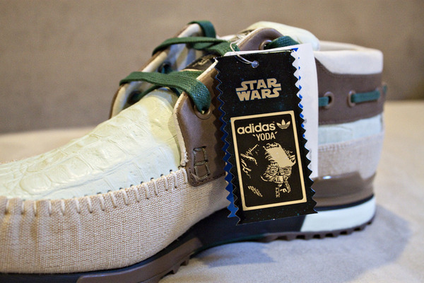 Star Wars X Adidas Originals 2010 Yoda Sneakers