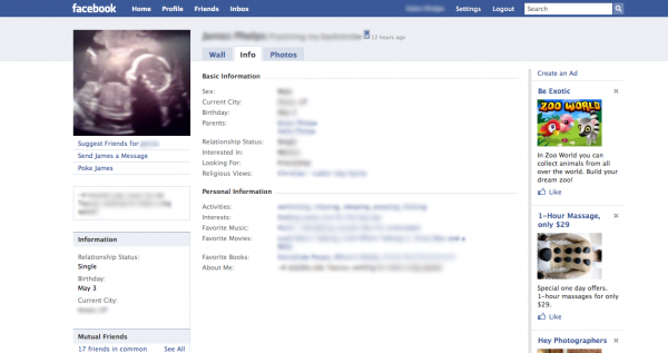 Ultrasound Pictures on Facebook: Creepy and Inappropriate?