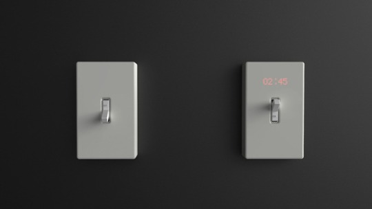 Time Switch Wall Clock